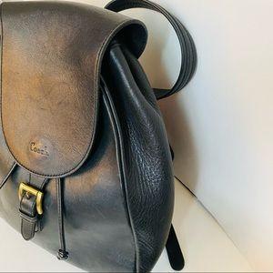 Vintage Coach Back Pack bag